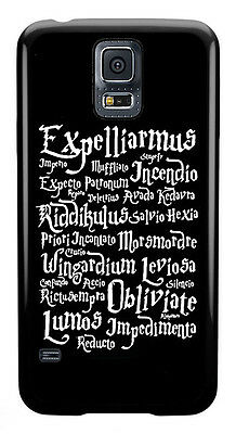 Harry Potter Spells Phone Case Cover for Samsung Galaxy