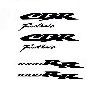 Honda Cbr1000Rr Decals Stickers Cbr1000 Rr Badge Emblem Fairing Fireblade Set