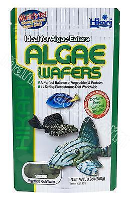 HIKARI ALGAE WAFERS 20g, 40g, 82g MARINE TROPICAL, SINKING FOOD, SPIRULINA FISH