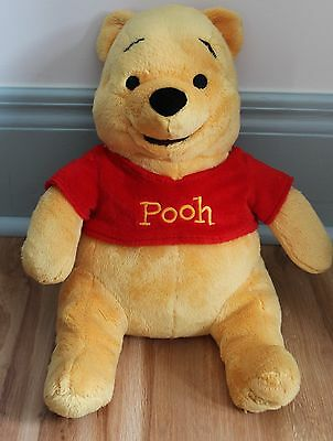 Disney Winnie The Pooh Bear With Red Shirt 12""