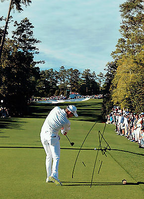 Danny WILLETT SIGNED Autograph 16x12 Masters WINNER Golf Course Photo AFTAL COA