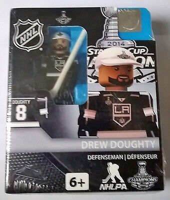 Drew Doughty LA Kings NHL 2014 Stanley Cup OYO Brick Toy Action Figure