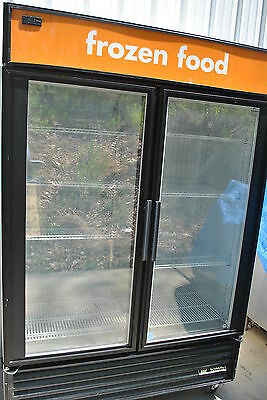 2012 True Gdm-49F 2 Door Merchandiser Freezer