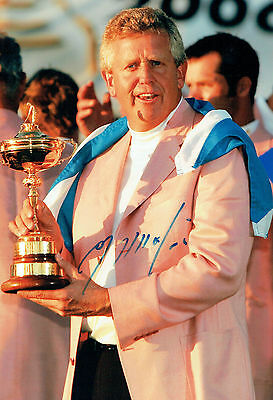 Colin MONTGOMERIE SIGNED Autograph 12x8 RYDER CUP GOLF Photo AFTAL COA