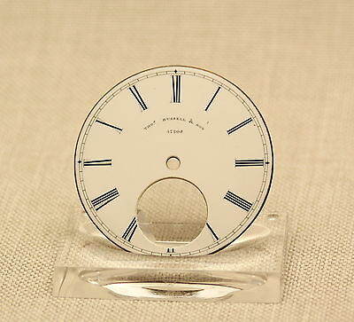 Zifferblatt Uhr Spindel Taschenuhr porcelain fusee pocket watch dial clock