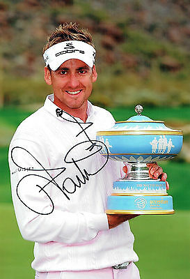 Ian POULTER SIGNED Autograph Accenture Match Play Winner Photo AFTAL COA GOLF