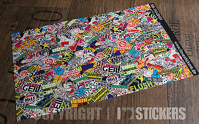 RC 1:10CAR  Sticker Bomb Aufkleber Heli Boot Tuning Decal Sticker Drift 110sh01