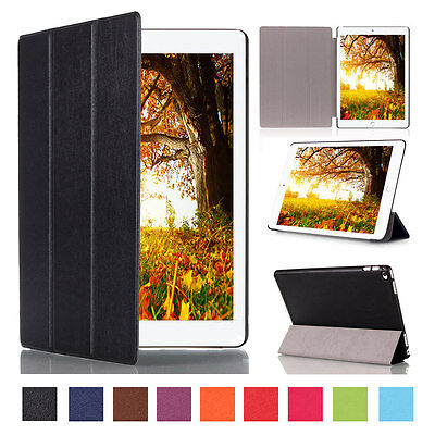 New Smart stand Magnetic Leather Case Cover For APPLE iPad Air2 Mini4 iPad Pro