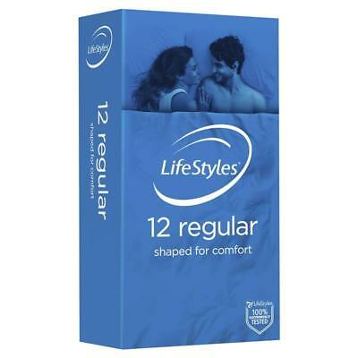 Ansell Lifestyles Condoms Regular 12 Pack