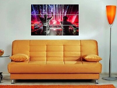 "Axwell & Ingrosso 35""x25"" Mosaic Tile Wall Poster Swedish House Mafia House"