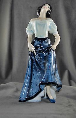 "Royal Doulton Porcelain Figurine CARMEN HN2545, 11 1/2"" Tall"