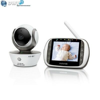 Brand New Motorola Mbp853Connect Video Baby Monitor + Wi-Fi Internet Viewing