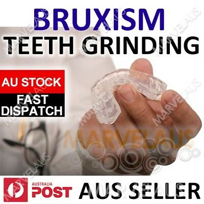 BRUXISM Anti Teeth Grinding Dental TMJ NIGHT GUARD Custom MOUTHGUARD Moldable