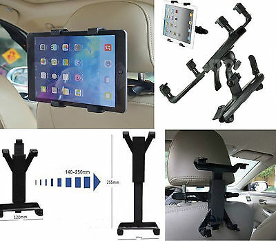 Universal Tablet iPad GPS Car Backseat Headrest Mount Holder for 5.8-10.1 inch