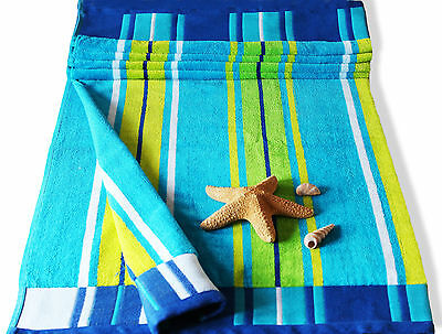 Jumbo Extra Large Beach Towel - 100% Cotton Multiple Designs Bath Sheet Holidays