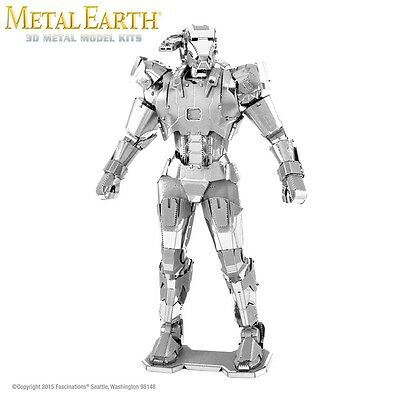 Fascinations Metal Earth War Machine Marvel Laser Cut 3D Model