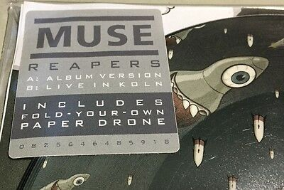 """Muse - Reapers - 7"""" Picture Disc 45 Giri - Rsd 2016 - Mint"""