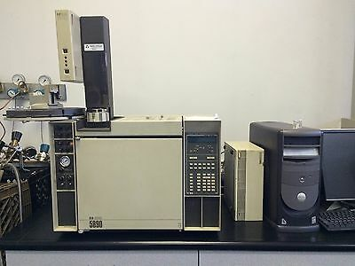 HP GC 5890 with Autosampler & Software
