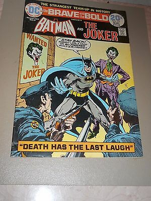 The BRAVE and the BOLD #111  BATMAN & The JOKER
