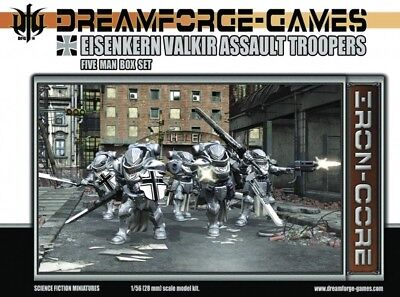 Iron-Core - Eisenkern Valkir Assault Troopers (5) - DreamForge Games Infantrie