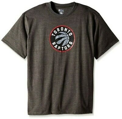 Toronto Raptors NBA Mens Majestic On Court Shirt Charcoal Big & Tall Sizes