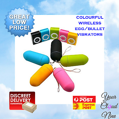 Black MP3 Style Wireless Remote Control Vibrator Egg Bullet Massager Sex Toy
