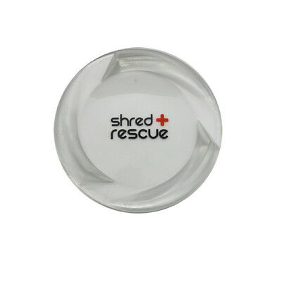 Snowboard Stomp Pad Shred Rescue Front 3 - Clear Self Sticking Grip