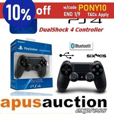 Genuine Sony PS4 Dualshock 4 Wireless Controller Playstation 4 Black Official