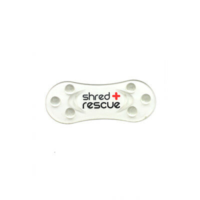Snowboard Stomp Pad Shred Rescue Mini Shred - Clear Self Sticking Grip