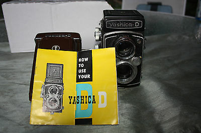 Yashica-D TLR 6 x 6 Original Leather Case