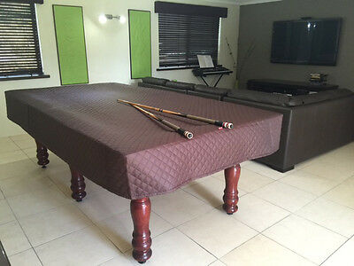 Pool Snooker Billiard Table Cover Fitted HEAVY DUTY Various Sizes & Colours