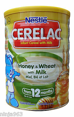 Nestle Cerelac Honey & Wheat with Milk From 12 Months (400g)