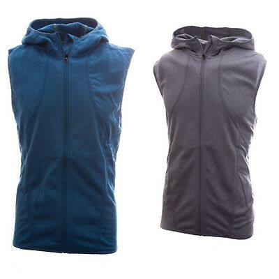 Men's Function vest Hoodie Vest Running Outdoor Training Jogging New