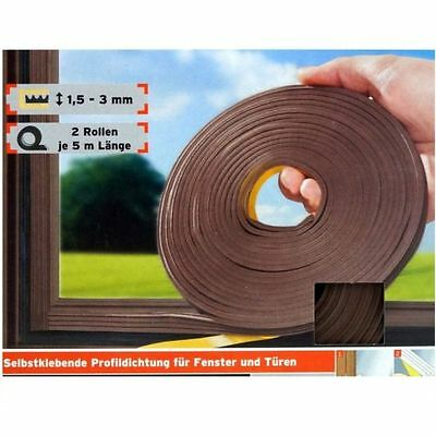 Rubber seal brown Profile seal Window Sealing Door Sealant