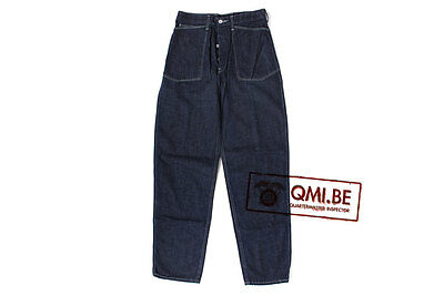 Trousers, Work, Blue-Denim, M1937 (Vintage WWII Reproduction)