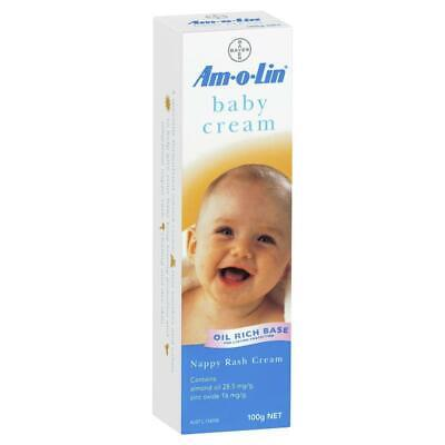 Amolin Baby Cream for Nappy Rash Tube 100g
