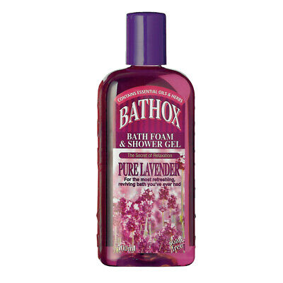 Bathox Shower Gel 500ml Pure Lavender