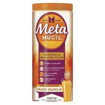Metamucil Fibre Supplement Orange 48 Dose 528g