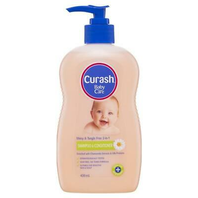 Curash Baby 2 in 1 Shampoo & Conditioner 400ml