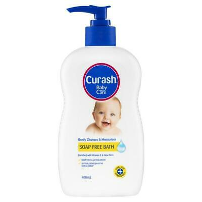 Curash Baby Soap Free Bath 400ml