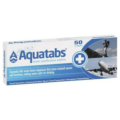 Aquatabs Water Purification 50 Tablets