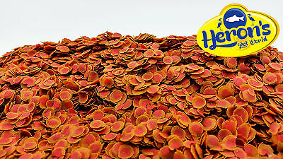 Colour Crisps ALL SIZES Tropical Fish Food Pro REFILL BAG for Discus Tetra Guppy