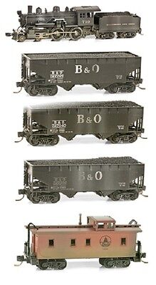 Micro-Trains N MTL99301180 Weathered Train Set Baltimore and Ohio