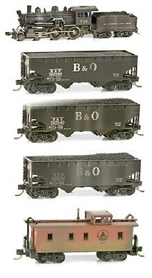 Micro-Trains N Weathered Train Set Baltimore and Ohio MTL99301180-W