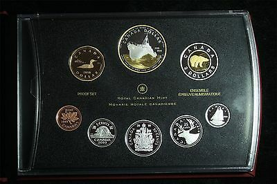 2010 Canada Proof Double Dollar Set W/box Papers (Ship)