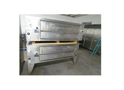 Bakers Pride | Y600 | Double Deck Pizza Oven Natural Gas