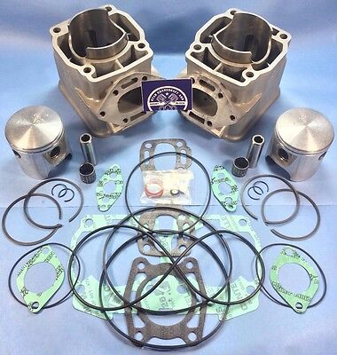 S8F Sea Doo Seadoo 800/787 Carb Cylinders .75Mm Overbore & Wsm Top End Kit