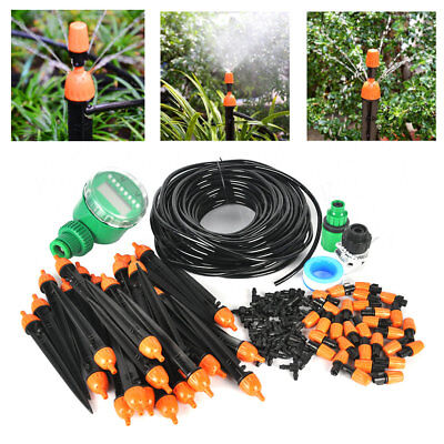 Garden Micro Irrigation Water Timer Automatic In Ground Misting Watering System