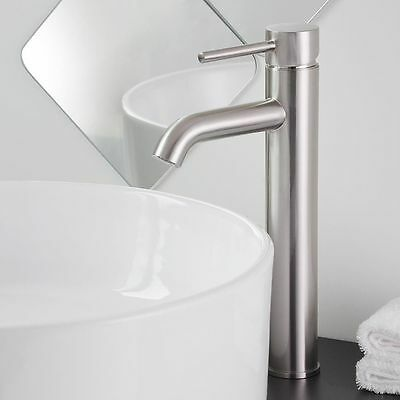 """12"""" Waterfall Bathroom Faucet Chrome/Brushed Nickel/Oil Rubbed Bronze Vessel Tap"""