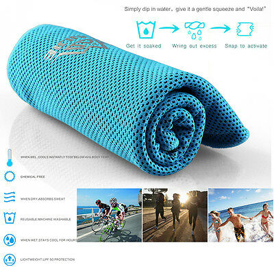 Towel Gym Sports Travel Camping Beach Bath Swimming Quick Dry Sweat Washcloth